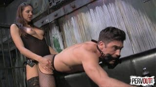 Sadie Holmes Has a Chasity Sex Toy Lance Hart