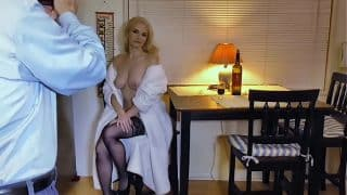 Liz Has A Smoke and Glass of Wine Before Bed – BTS